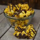 Dark Chocolate Sea Salt Caramel Drizzle Popcorn