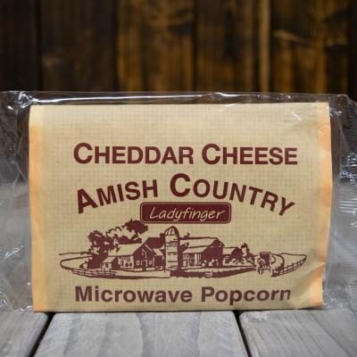 Cheddar Cheese Amish Country Microwave Popcorn
