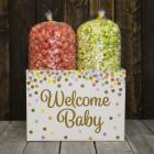 Welcome Baby Popcorn Gift Box