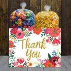 Thank You Flowers Popcorn Gift Box