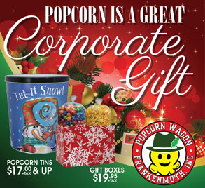 Corporate popcorn Gifts